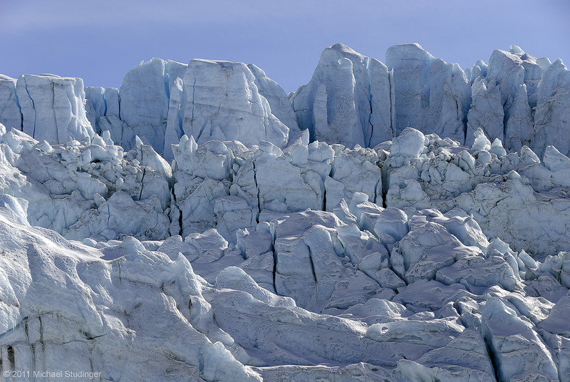 Russel Glacier near Kangerlussuaq. Russel Glacier is a land-terminating glacier.