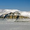 Sidewall of Petermann Glacier.