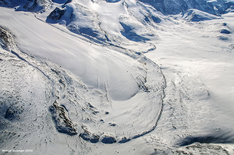 Terminal moraine of a small glacier on Baffin Island, Nunavut.