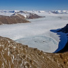 Landscape in northeast Greenland.