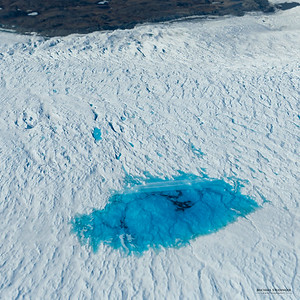 Melt ponds on the Greenland Ice Sheet