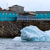 Icefjord Hotel, our home in Ililussat, Greenland.