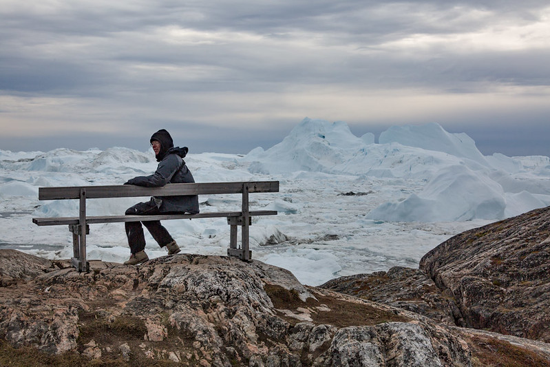 Overlooking Ililussat fjord
