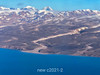 Mountains and valleys, Cote de Blosseville, East Greenland south of Scoresby Sund