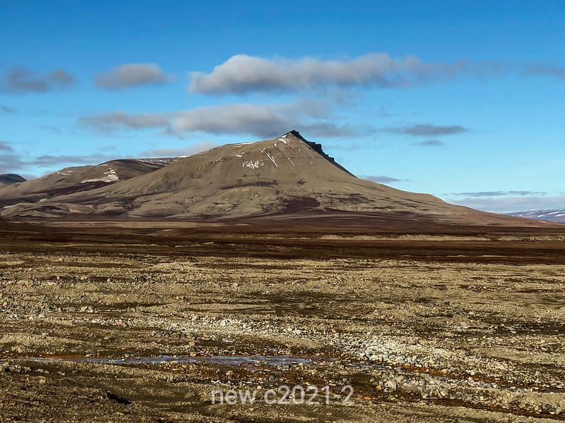 Landscape  Jameson Land near Nerlerit Inaat airport,  East Greenland