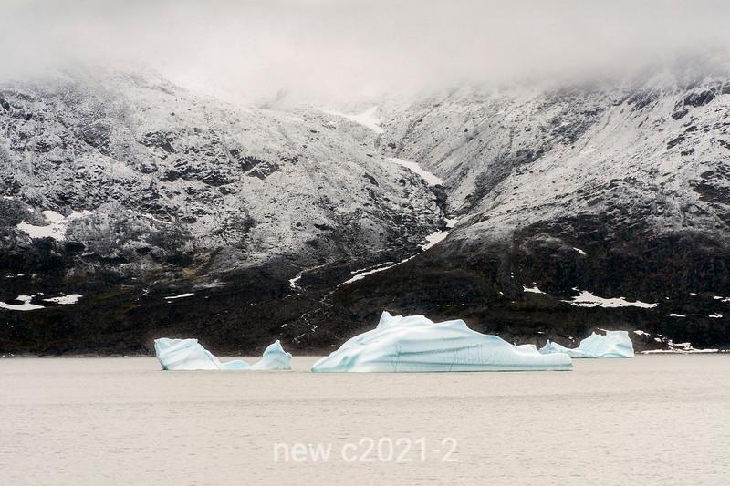 Geikie Plateau and blue ice
