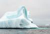 Iceberg art near Denmark Island, Scoresby Sund, East Greenland