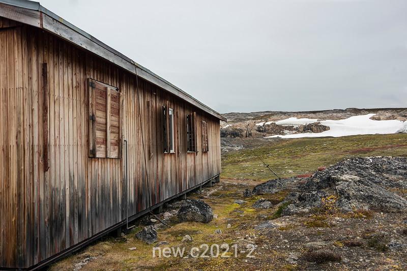 1967 Mining exporation cabin, Hekla Havn, Denmark Island, Scoresby Sund, Greenland