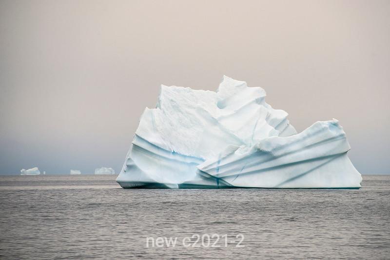 Iceberg origami