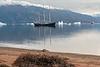 MV Plancius coming to resupply Rembrandt van Rijn, Cape Hofmann Halvo, Scoresby Sund, Greenland