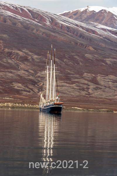 Reflected schooner