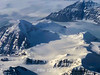 Flying over Savoia Halvo on the Volquaart von Kyst Coast towards Steward O and the Blosseville Kyst, East Greenland,