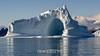 Iceberg with large cave, Hall Bredning, Scoresby Sund, Greenland
