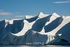 Ice waves and shadows, Hall Breding, Scoresby Sund, Greenland