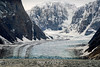 Glacier with parallel lines md