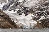 Glacier on Renland, empyting into O Fjord, Scoresby Sund, Greenland