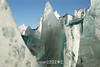 Iceberg with different types of ice, Rodefjord, Scoresby Sund, Greenland