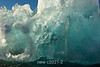 Iceberg with compressed ice, Rodefjord, Scoresby Sund, East Greenland