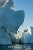 Melting iceberg, Rodefjord, Scoresby Sund, East Greenland
