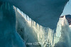Dripping icicles, old iceberg, Rodefjord, Scoresby Sund, East Greenland