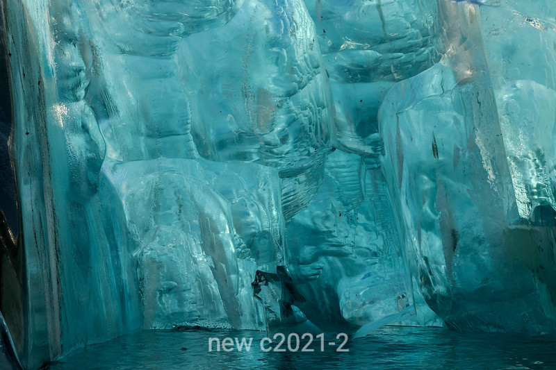 Ice cave detail