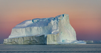 All of the icebergs are gradually melting, but this one seemed more fractured than most