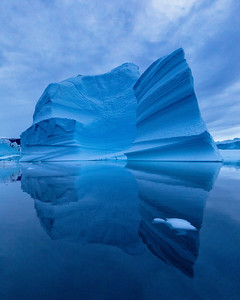 But one returns from Greenland with memories of icebergs and an overwhelming sense of the meaning of deep blue