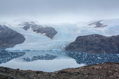 Inlandsis, Greenland