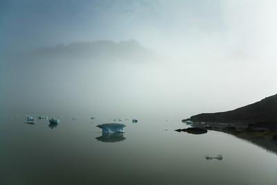 Mist, Greenland