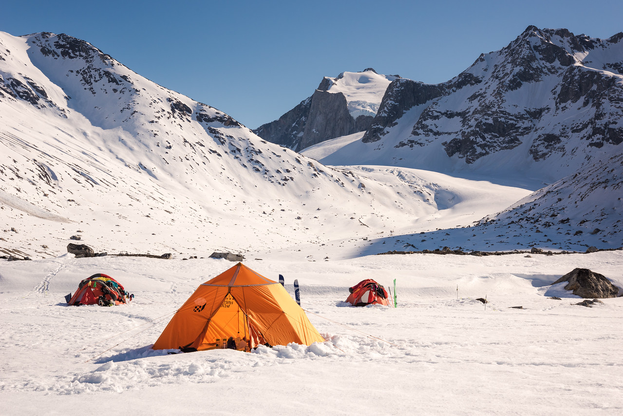 Camp at Tasiilap, East Greenland