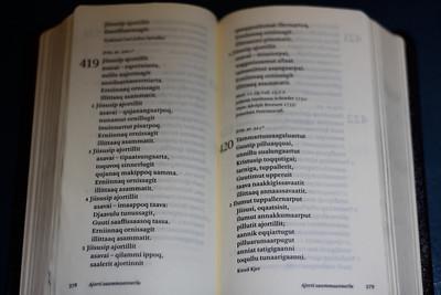 25 Hymnal in East Greenlandic