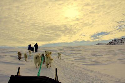 Glacier, East Greenland