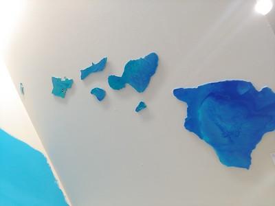 Acrylic paint Hawaii Islands