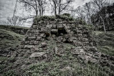Hunnewell Furnace Ruins
