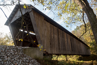 Bennett's Mill Covered Bridge Floor View