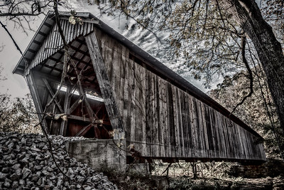 HDR Bennett's Mill Covered Bridge