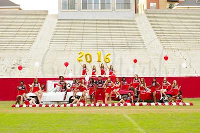 Greenville High School Cheerleaders 2016/2017