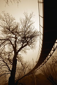 bridges (7) 2 people sepia