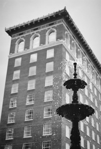 Old Chamber of Commerce building at Court Square - Greenville, SC.