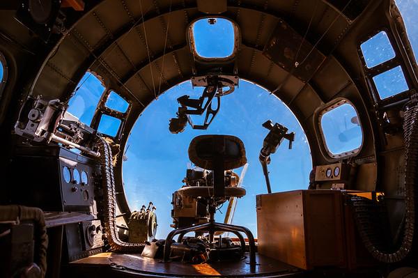 B-17 Gunner's Seat