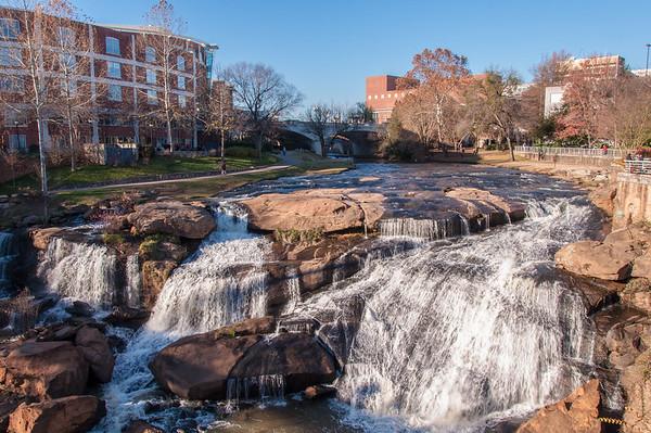 Falls Park Waterfall 2