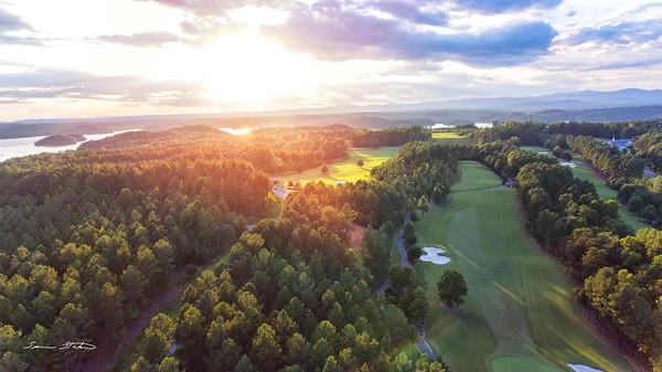 Keowee Golf Sunset