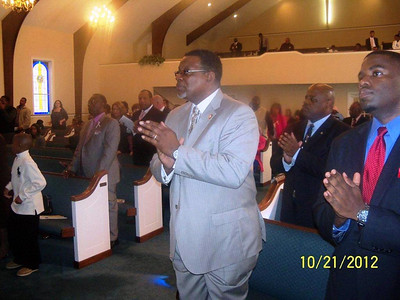 2012 Bro. V. Freeman 12th Pastoral Anniversary