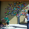 Handpainted Birds By Mary Woodward Elementary School Students, Tigard 2