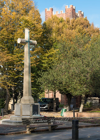 Oct' 27th 2016.  Charlton war memorial
