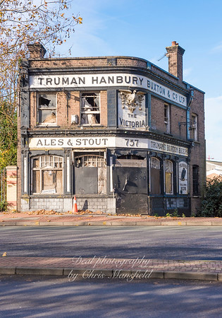 Nov' 19th 2017   The Victoria Pub,   Woolwich rd, SE7