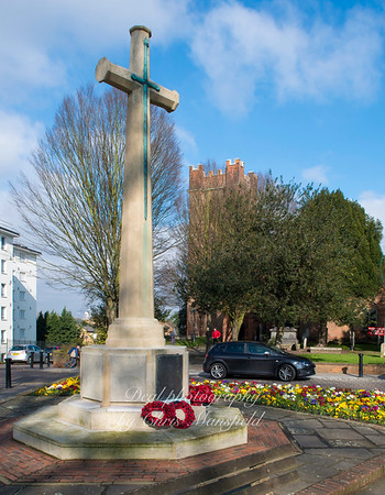 Dec' 6th 2016  Charlton war memorial