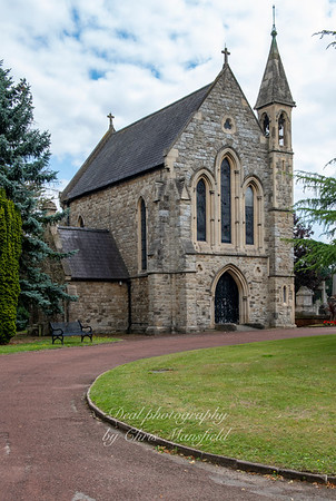 Aug' 1st 2019.  Charlton cemetery ,  Anglican chapel ( now closed )