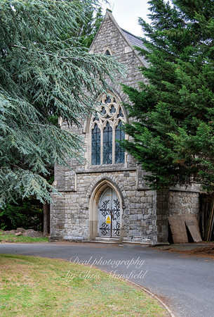 Aug' 1st 2019.  Catholic chapel at Charlton cemetery