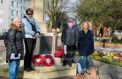 March 6th 2016. War memorial walk, Charlton